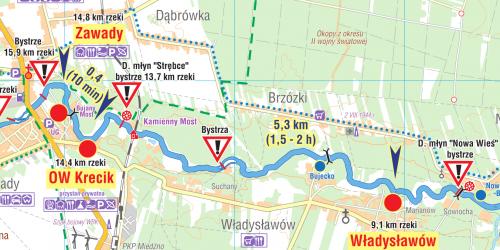 Zawady - Władysławów - schemat
